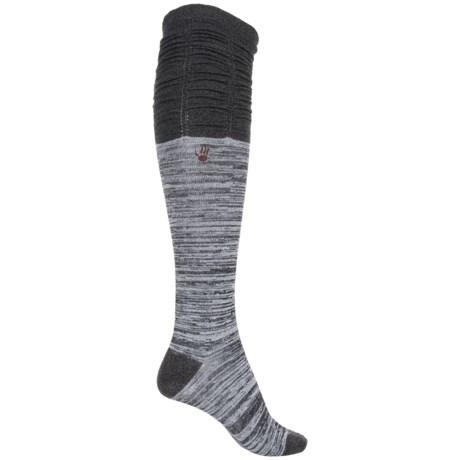 Bearpaw Scrunchy Knee-High Socks - Over the Calf (For Women)