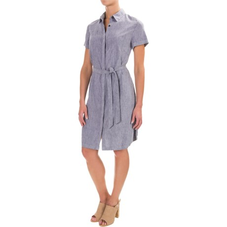 Pendleton Aimee Linen Dress - Short Sleeve (For Women)