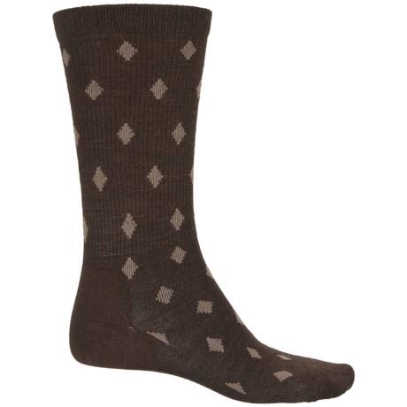 Point6 Active Life Diamonds Socks - Merino Wool, Crew (For Men)
