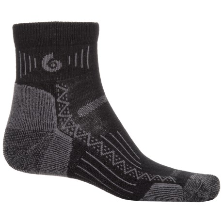 Point6 Hiking Tech Socks - Merino Wool, Ankle (For Men and Women)