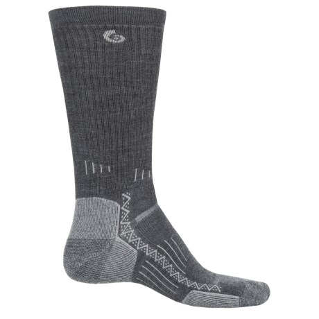 Point6 Midweight Hiking Tech Socks - Merino Wool, Crew (For Men and Women)