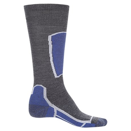 Point6 Ski Medium Socks - Merino Wool, Over the Calf (For Men and Women)