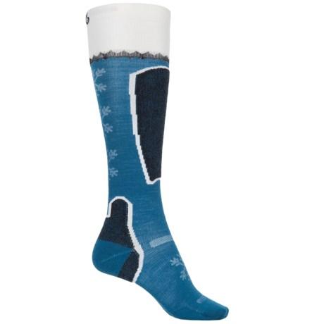 Point6 Pro Frost Ski Socks - Merino Wool, Over the Calf (For Women)