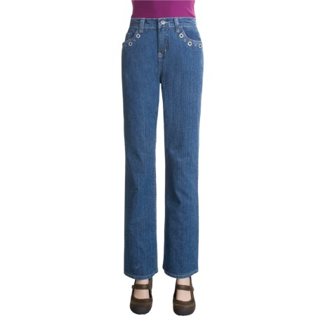 Ethyl Jeans with Rhinetones (For Women)