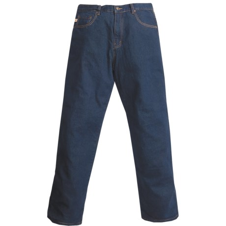 Grizzly Ike Flannel-Lined Jeans (For Men)