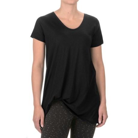 Satva Whisper T-Shirt - Organic Cotton, Short Sleeve (For Women)