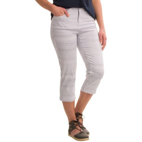 FDJ French Dressing Suzanne Linear Twist Stretch Capris (For Women)