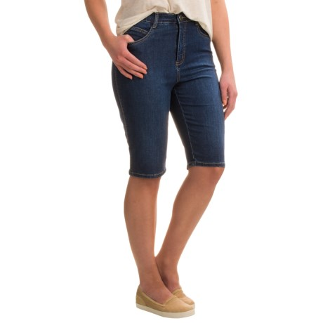 FDJ French Dressing Suzanne Denim Bermuda Shorts (For Women)