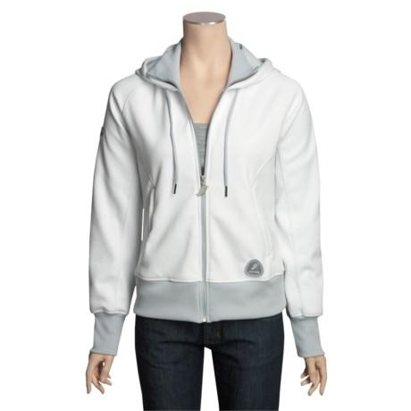 Saucony Kilkenny Fleece Hoodie Jacket - Full Zip (For Women)