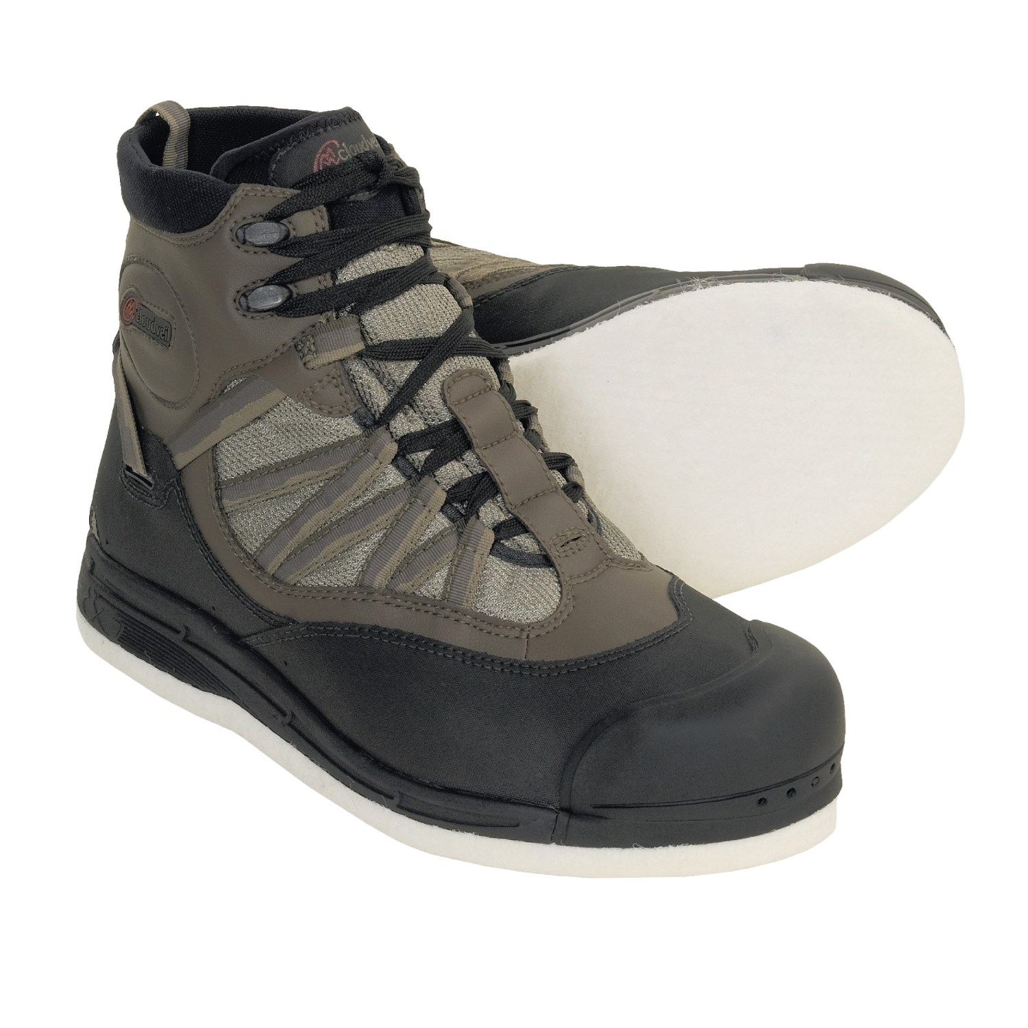 Cloudveil fishing boots images for Wading shoes for fishing