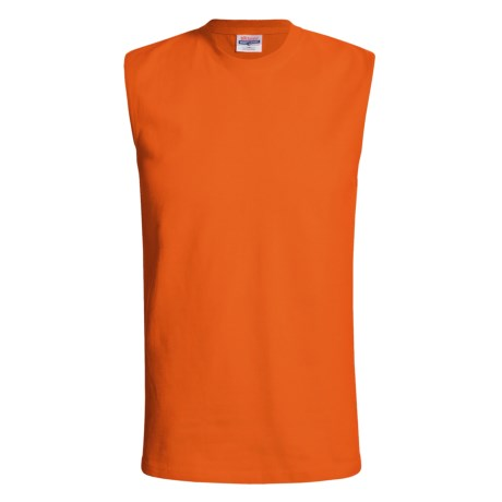 Hanes ComfortSoft Cotton T-Shirt - Sleeveless (For Men)