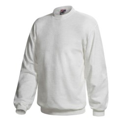 Hanes Pill-Resistant Fleece Sweatshirt - Cotton-Rich 9 oz (For Men and Women)