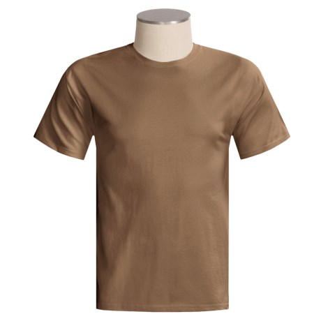 Hanes Beefy T-Shirt - Short Sleeve, Fitted (For Men and Women)