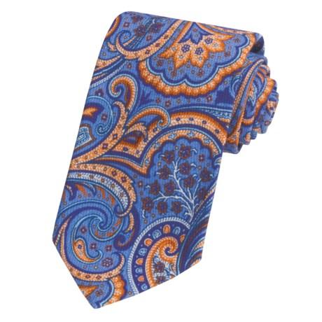 Altea Paisley Tie - Cotton Pique (For Men)