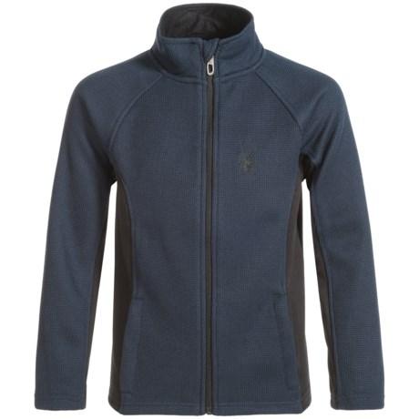 Spyder Constant Core Jacket - Zip Front (For Big Boys)