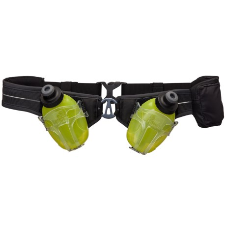 Nathan Speed Demon Double Hydration Belt - 8 oz. Water Bottles