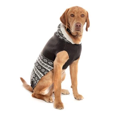 Telluride Stripe Fair Isle Dog Sweater