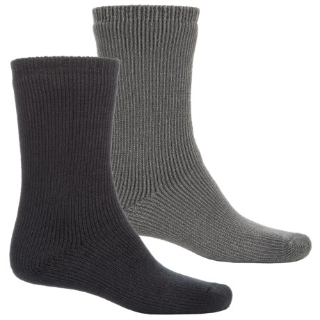 Terramar Terra Heat Thermal Work Outdoor Socks - Crew, 2-Pack (For Men)