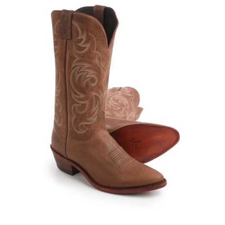 """Justin Boots Tyler Cowhide Cowboy Boots - 13"""", J-Toe (For Men)"""