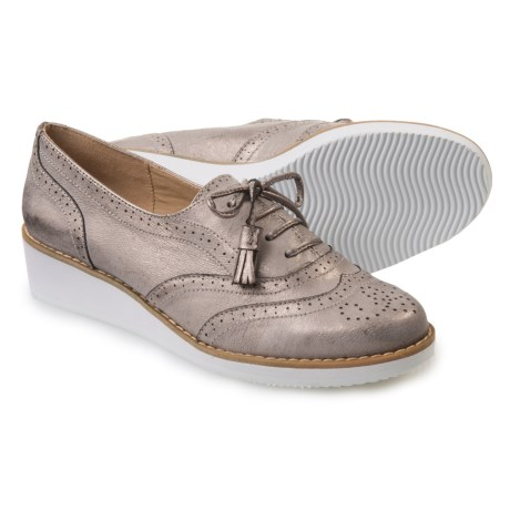 Adrienne Vittadini Trink Oxford Shoes - Leather (For Women)