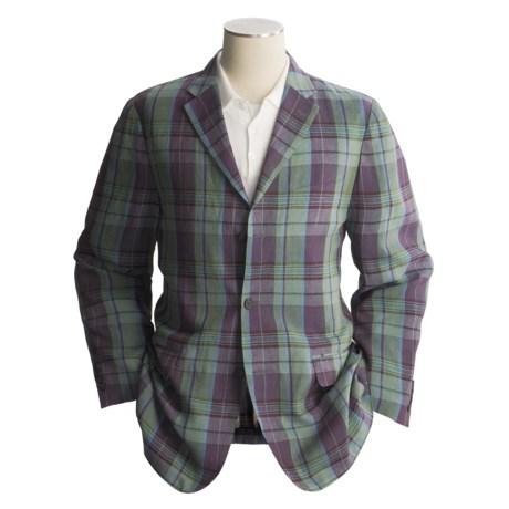 Ibiza Madras Sport Coat - Linen (For Men)