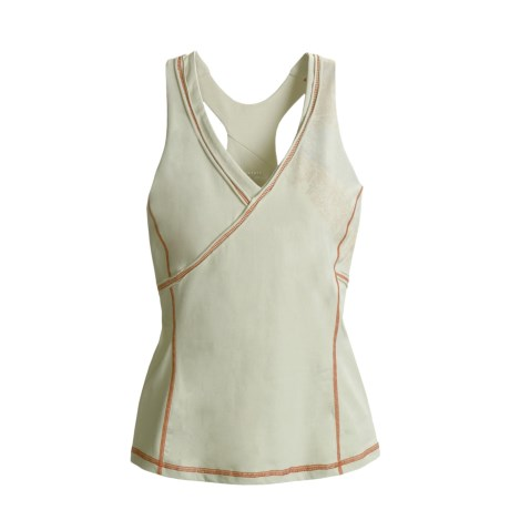 Mountain Hardwear Dihedral Tank Top - Shelf Bra, Organic Cotton, Racerback (For Women)