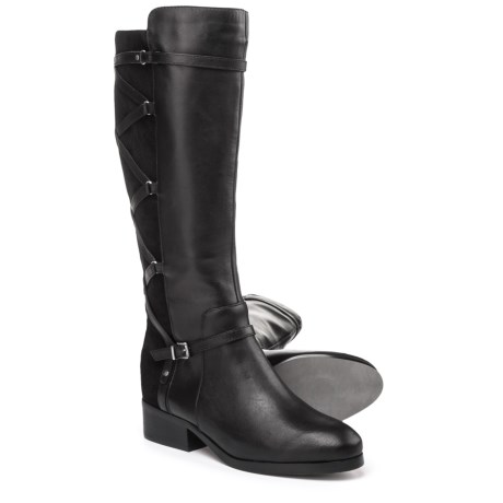 Adrienne Vittadini Mickey Tall Boots - Leather (For Women)
