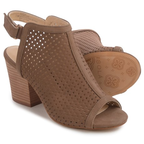Isola Lora Bootie Sandals - Perforated Leather (For Women)
