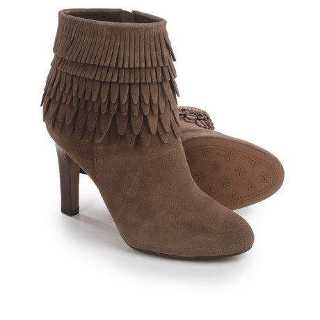 Isola Layton Dress Boots - Suede, Fringe Detail (For Women)