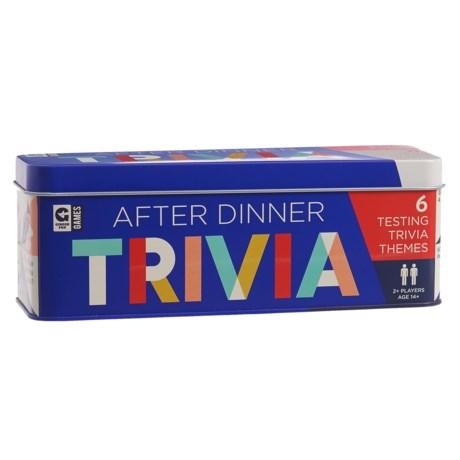 Ginger Fox After Dinner Trivia Cards
