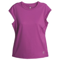 K-Swiss Training T-Shirt - Short Sleeve (For Women)