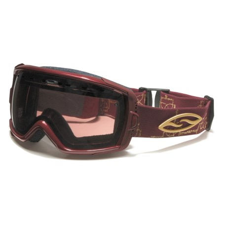 Smith Optics Smith Sport Optics Heiress Snowsport Goggles with Spherical Mirror Lenses (For Women)