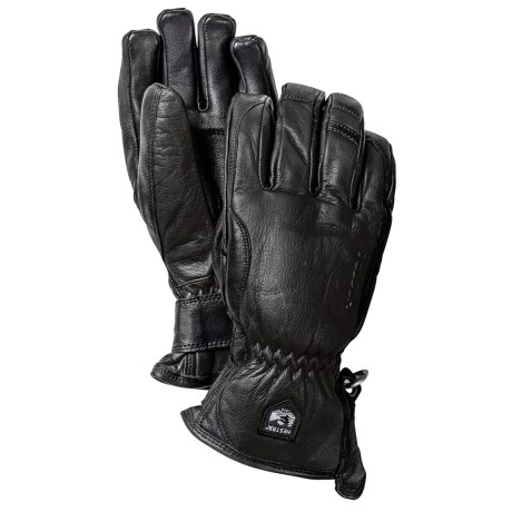 Hestra Leather Swisswool Merino Gloves - Insulated (For Men)