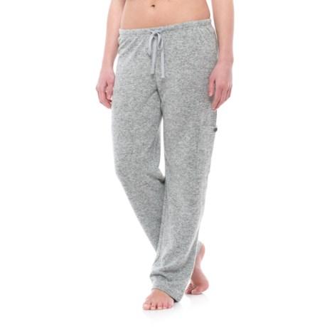 Live Love Lounge Dove Fleece Pants (For Women)