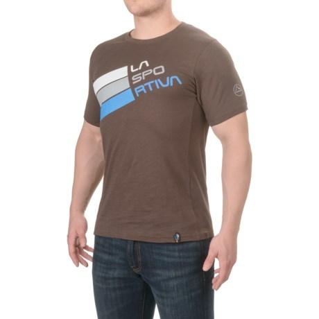 La Sportiva Stripe Logo T-Shirt - Short Sleeve (For Men)