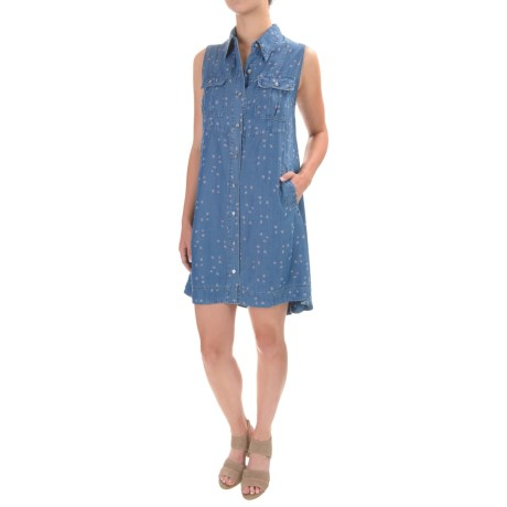 4OUR Dreamers Floral Swing Dress - TENCEL®, Sleeveless (For Women)