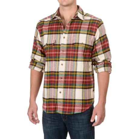Woolrich Rothrock Flannel Shirt - Long Sleeve (For Men)