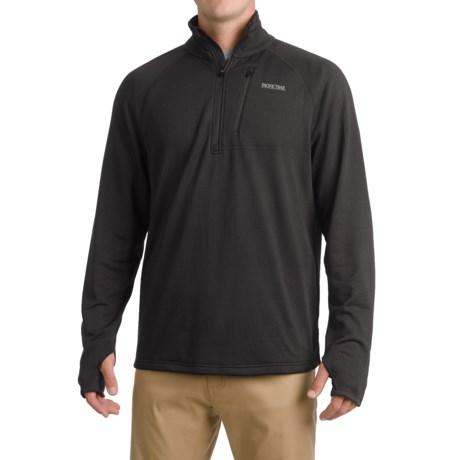 Pacific Trail Grid Fleece Sweater - UPF 30, Zip Neck (For Men)
