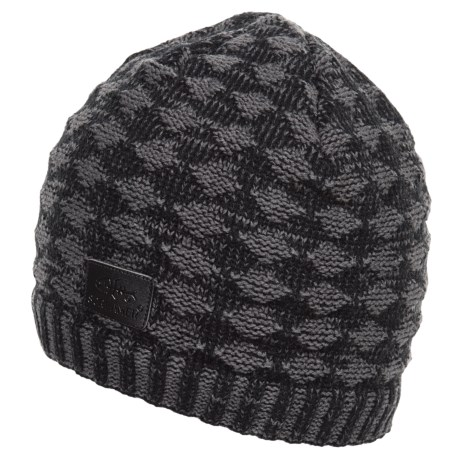 Screamer Diamond Waffle Beanie - Fleece Lined (For Men)