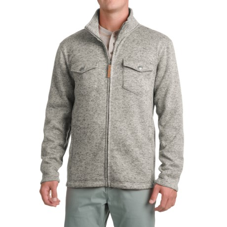 Pacific Trail Fleece Shirt Jacket - Zip Up (For Men)