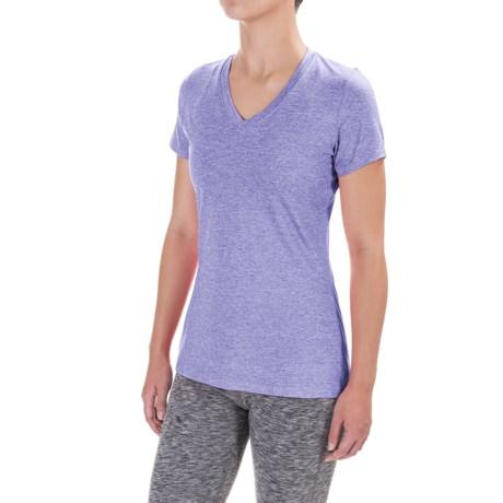 Terramar Knockout T-Shirt - V-Neck, Short Sleeve (For Women)
