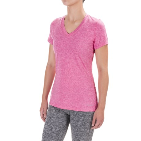 Terramar Knockout T-Shirt - V-Neck, Short Sleeve (For Women)