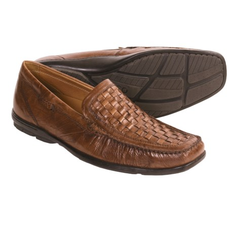 ECCO Braided Lounge Moc Shoes - Leather (For Men)