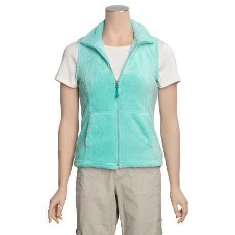 White Sierra Cozy Vest - Fleece (For Women)