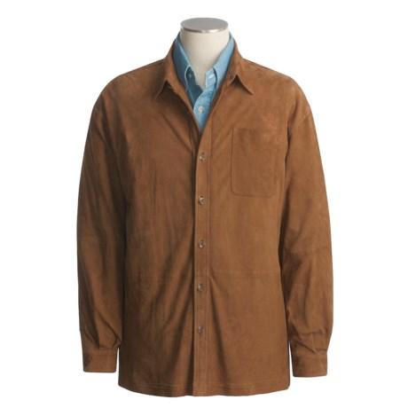 Golden Bear Piedmont Suede Shirt - Long Sleeve (For Men)