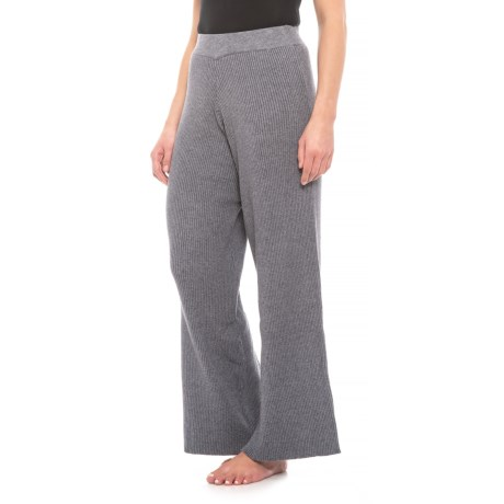 Anew Ribbed Lounge Pants (For Women)