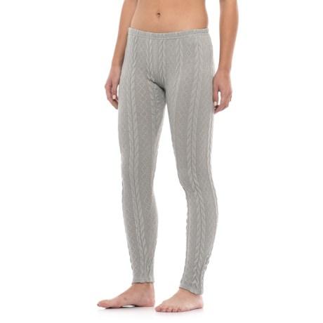 Anew Sleepy Plush Cable Leggings (For Women)