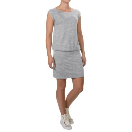Stretch Knit Rayon Dress - Short Sleeve (For Women)