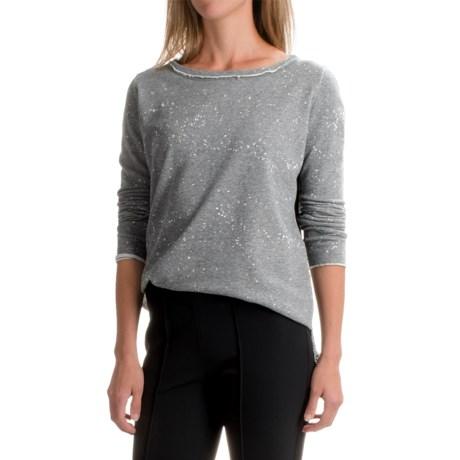 525 America Boxy Splash Sweatshirt - Cropped Length (For Women)