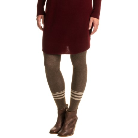 Anew Beachcomber Rugby Snap Leggings (For Women)